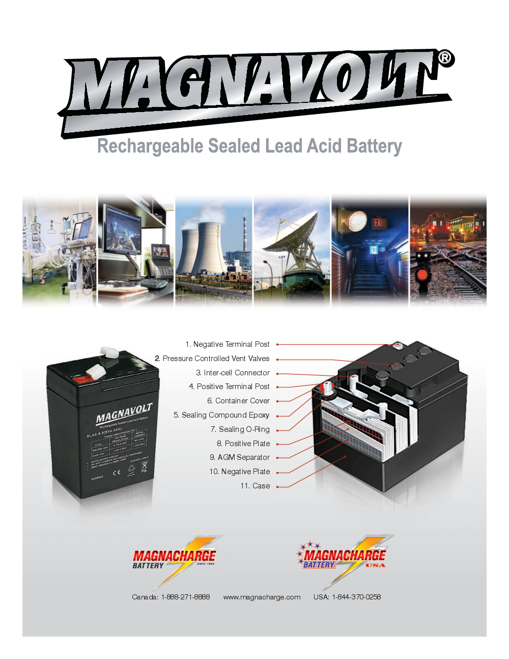 Magnavolt SLA Spec Brochure