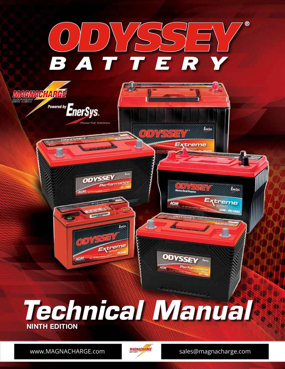 Odyssey- Tech manual