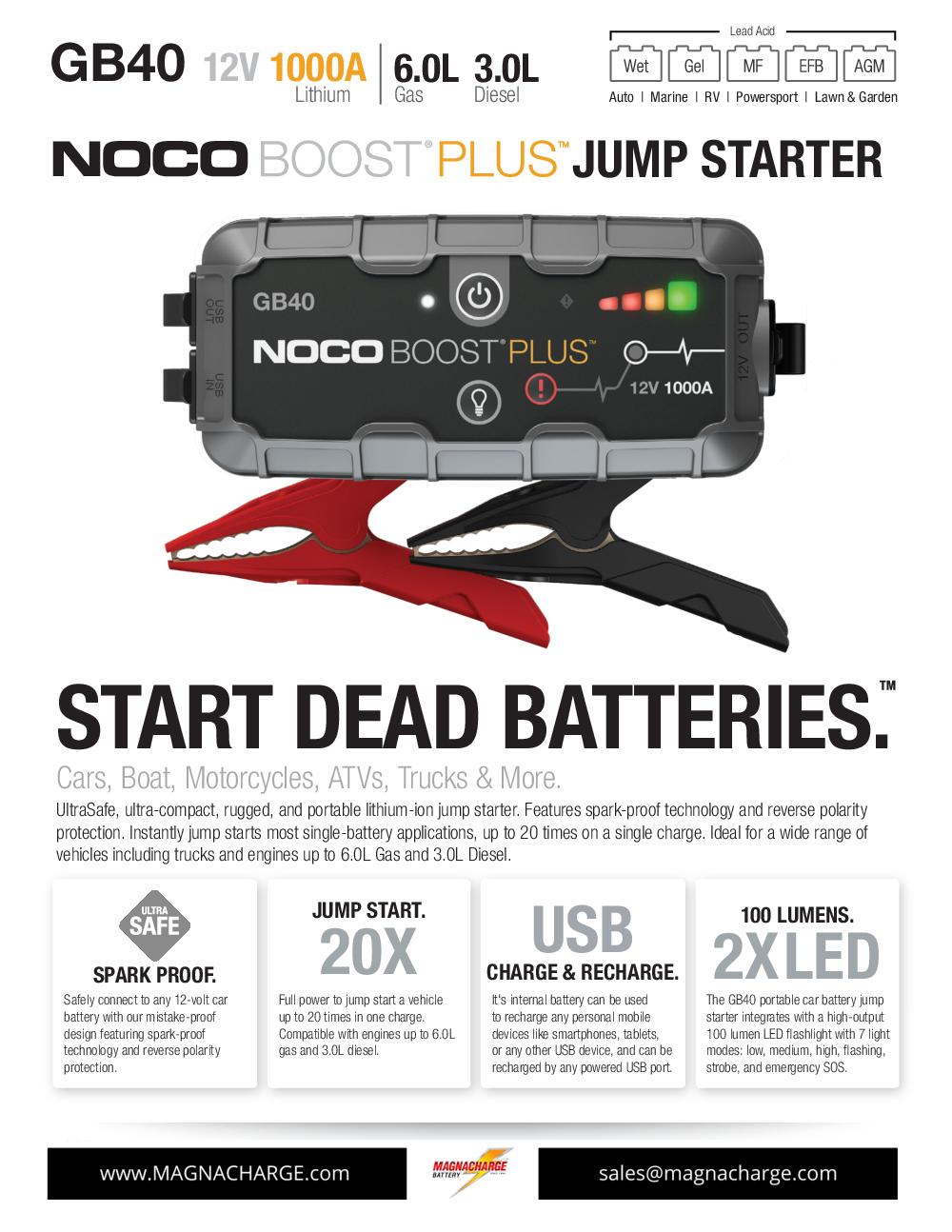 NOCO GB40 - EDITED
