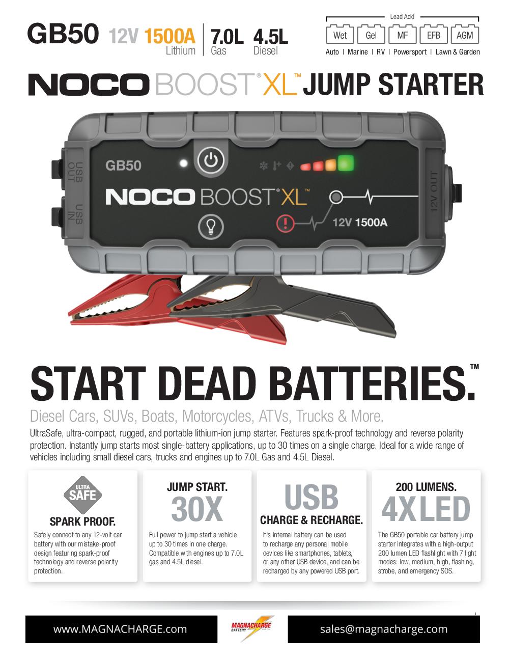 NOCO GB50 - EDITED