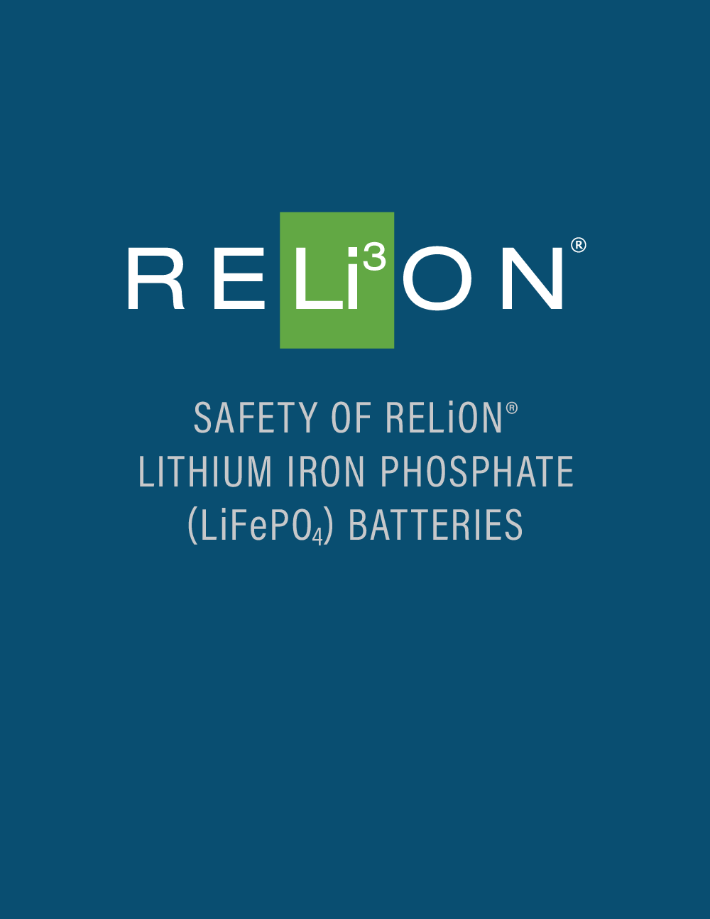 Relion_SafetyLithiumBattery